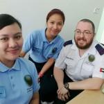 Cardiac arrest A-team Rebi and Christine in Abu Dhabi, UAE