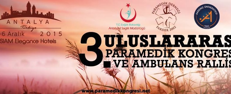 3rd International Paramedic Congress – Turkey