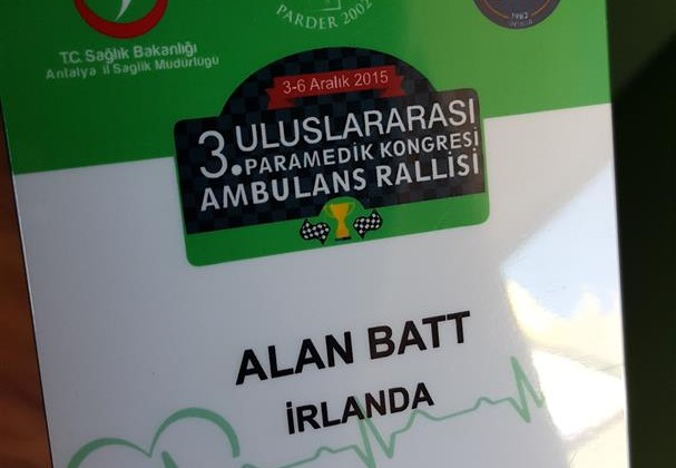 Turkish Paramedic Association 3rd International Paramedic Congress & Ambulance Rally