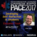 Reflective practice talk at PACE 2017 in Quebec City